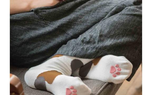若隱若現的肉球超可愛♡ FELISSIMO貓部「貓腳襪」新登場 日本文化、日本流行、觀光、日本飲食