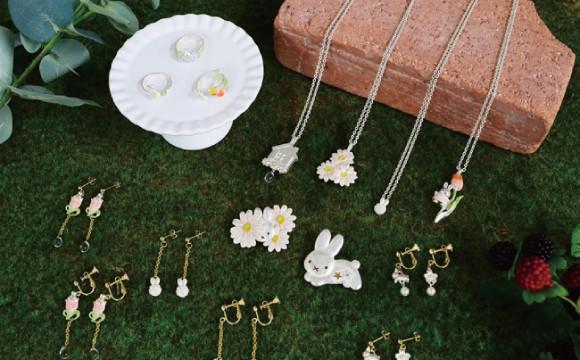 Miffy和花主題的飾品,6月在Miffy花店「FLOWER MIFFY」販售 日本文化、日本流行、觀光、日本飲食