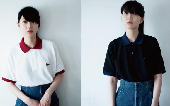 """享受男女朋友間""""不刻意""""的連體穿搭。由小谷實由發想的LACOSTE客製POLO衫限定登場 日本文化、日本流行、觀光、日本飲食"""