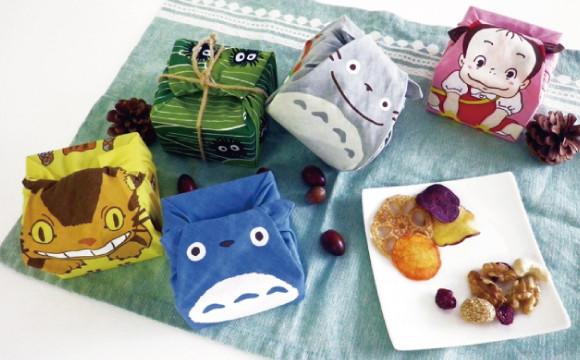 摺疊變身成龍貓♪「橡子共和國」與かまわぬ(Kamawanu)「まめぐい(MAMEGUI)」合作商品發售! 吉卜力工作室、