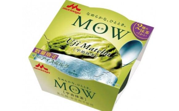 享受2種宇治抹茶!「MOW(モウ) 宇治抹茶(數量限定)」夏季數量限定發售! 抹茶、