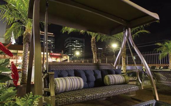 鞦韆、Glamping、情侶座位帶你感受度假氣氛♡「阪急Top Beer Garden」 日本文化、日本流行、觀光、日本飲食