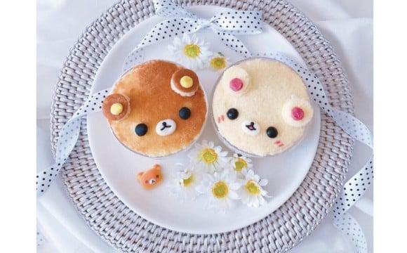 """為大家介紹簡單完成的""""造型料理""""美食!這次的的料是 """"拉拉熊、牛奶熊乳脂鬆糕杯"""" 食譜、"""