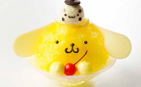 布丁狗Café推出夏季布丁狗刨冰♪ 冰、布丁狗、