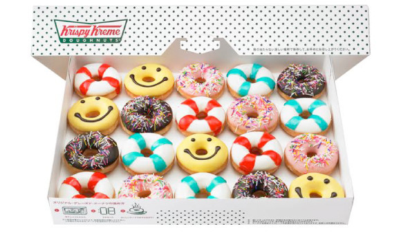 「Krispy Kreme Doughnut」的「Summer Mini Box」期間限定登場!! 日本文化、日本流行、觀光、日本飲食