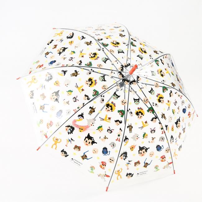 ビニール傘(¥500)