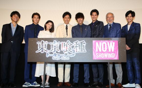 電影『東京喰種』上映初日群星聚集!石田翠老師新畫的角色插圖必看! 電影、東京喰種、
