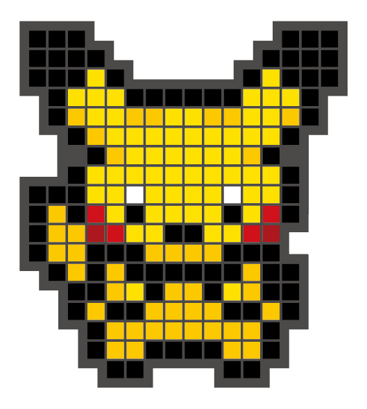 Rubber magnet3_pikachu