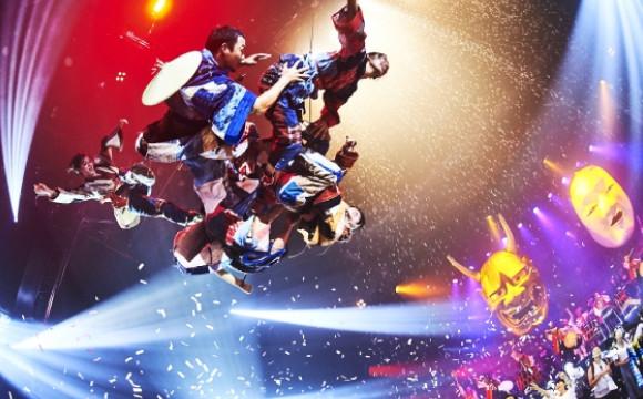風靡全球的體驗型娛樂秀、極限震撼最新作「WA!」終於在日本開演! 日本文化、日本流行、觀光、日本飲食