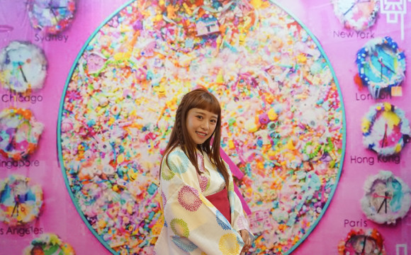 台灣漫博的MMN攤位、邀請台灣模特兒紀ト心來介紹! MOSHI MOSHI NIPPON、台灣、