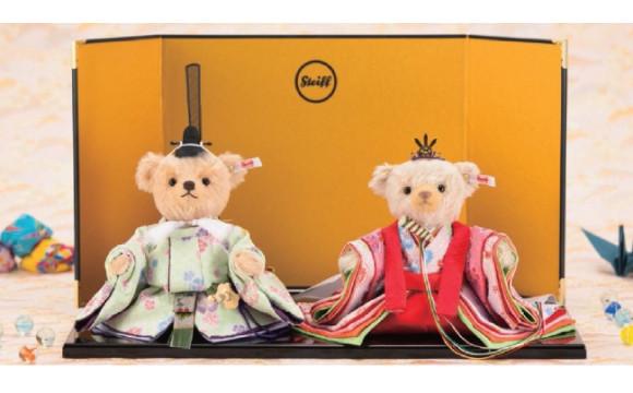 日本與德國的傳統玩偶合作!「女兒節泰迪熊娃娃」發售 女兒節、熊娃娃、