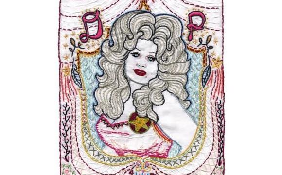 刺繡藝術家「JENNY HART」的展覽將在澀谷舉辦 與ROSE BUD的合作作品也將展出 涉谷、