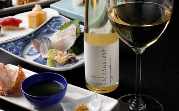 享受壽司&全美No.1的白酒『asatsuyu』的絕妙搭配 神樂坂「鮨 凜」 壽司、白酒、神樂坂、