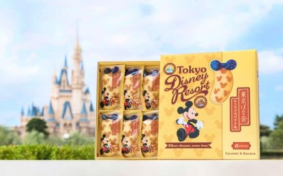 """東京伴手禮的超級經典款 """"東京香蕉""""的東京迪士尼樂園限定商品登場! 迪士尼、"""