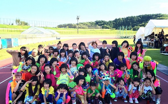 TEMPURA KIDZ和福島小朋友的舞蹈表演!「ONE+NATION music circus」 TEMPURA KIDZ、福島、