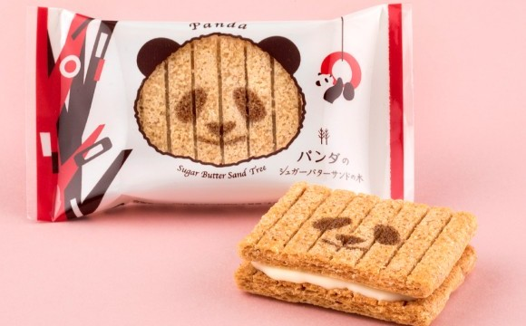 「Sugar Butter Tree」以上野動物園的貓熊為主題的新商品即將發售 貓熊、