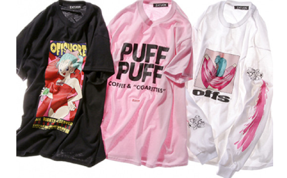 原宿的select shop「offshore」與七龍珠合作!「PUFF PUFF」T-shirt等商品登場 七龍珠、動漫、