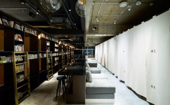 可以過夜的書店「BOOK AND BED TOKYO」淺草店開幕 在淺草、書店、