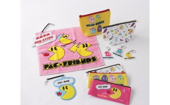 遊戲『小精靈』的新品牌「PAC-STORE」×300圓商店「3COINS」的合作商品登場 300圓商店、小精靈、