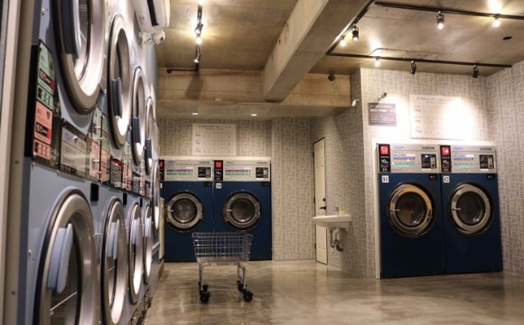 三軒茶屋的時尚投幣式自助洗衣店「BALUKO LAUNDRY PLACE」開幕 在三軒茶屋、投幣式自助洗衣店、