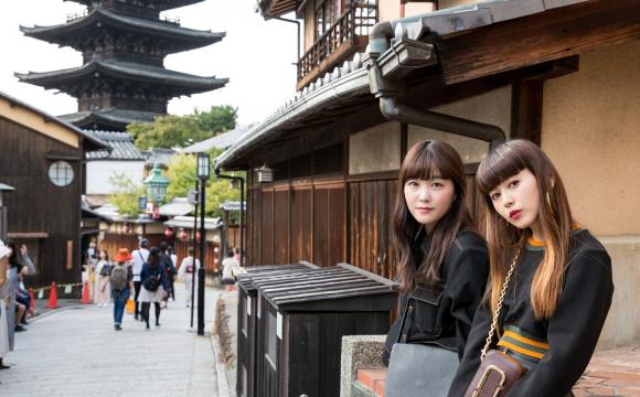 【京都散步】用一天享受京都!觀光&美食&體驗活動的京都雙人之旅 京都散歩、在京都、提升、東京散步、柴田光