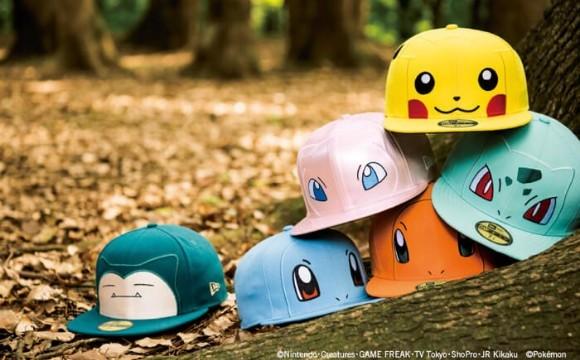 NEW ERA推出精靈寶可夢的帽子! 精靈、