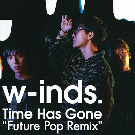 「Time Has Gone Future Pop Remix」ジャケ写 copy copy 2