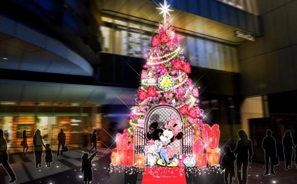 米妮即將登場涉谷HIKARIE今年聖誕節點綴的燈飾「TOKYU CHRISTMAS WONDERLAND 2017」! 涉谷、涉谷HIKARIE、聖誕節、聖誕點燈、