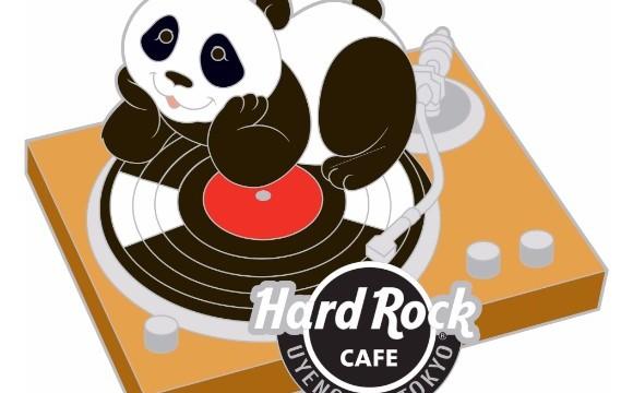 """慶祝上野動物園的""""香香""""誕生!「Hard Rock Cafe」上野站東京店 貓熊商品販賣 在上野、貓熊、"""