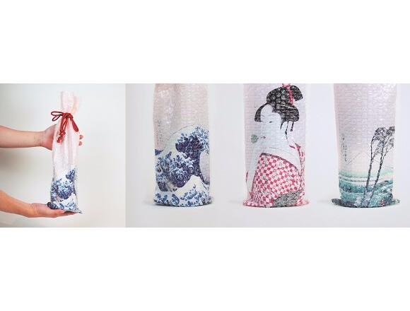 「Tokyo Midtown Award」得獎作品・替美酒增添驚喜的浮世繪單品登場 浮世繪、贈禮、