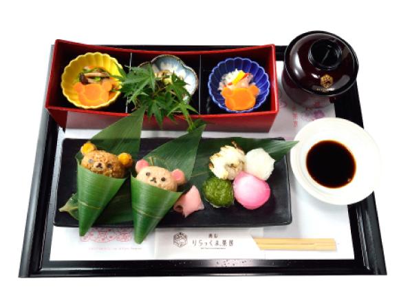 京都・嵐山 以「和×拉拉熊」為主題的咖啡廳菜單check! 咖啡廳、在京都、拉拉熊、