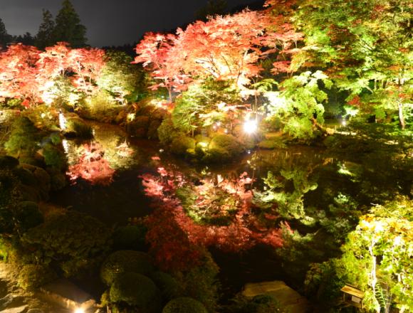 快到世界遺產・日光山輪王寺的庭園「逍遥園」賞楓吧 在日光、楓葉、觀光、