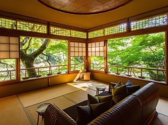 虹夕諾雅 京都在「米其林指南 京都・大阪2018」中獲得最高等級評比 在京都、