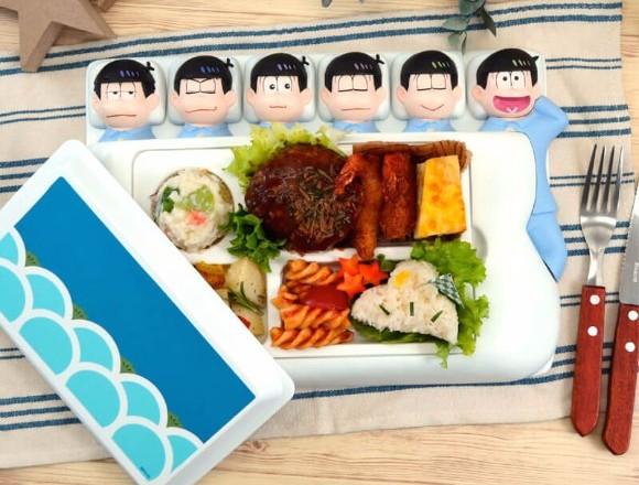 阿松六子周邊新增!不會太孩子氣的「大人午餐盤」登場 阿松、