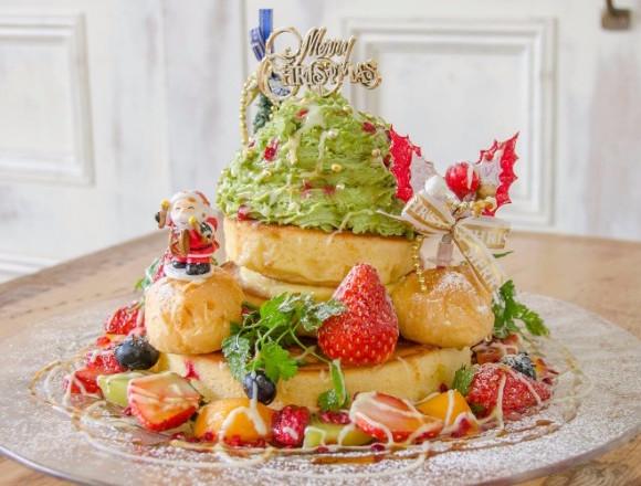 """人氣咖啡廳「accueil」推出""""聖誕樹鬆餅""""季節限定販售 咖啡廳、在恵比寿、在橫濱、甜點、"""