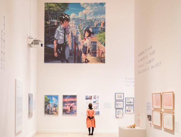 引發話題的展覽「國立新美術館開館10週年 新海誠展 從『星之聲』到『你的名字。』」潛入報導 你的名字、在六本木、新海 誠、
