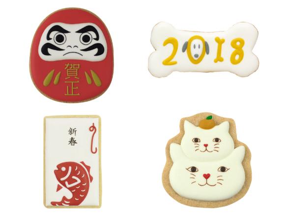 銀座「merrifactury」推出新年祝賀糖霜餅乾登場 在銀座、甜點、