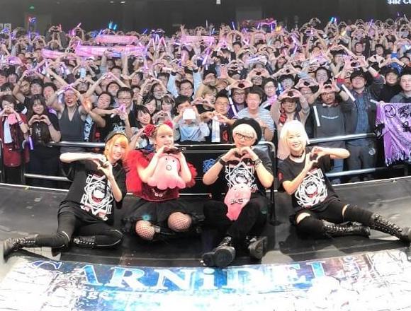 GARNiDELiA首度亞洲巡迴動員4,000人參加!新曲發售決定 garnidelia、