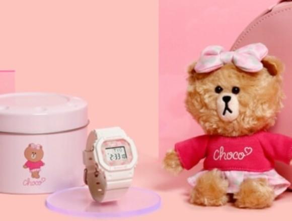 LINE角色熊大妹妹「CHOCO」和Baby-G合作商品 日本限定發售 Baby-G、熊大、LINE FRIENDS