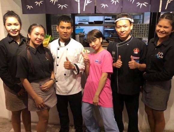 位於泰國海邊的日本料理居酒屋「Bakkai」 由模特兒・矢部ユウナ進行介紹 在越南、餐廳、