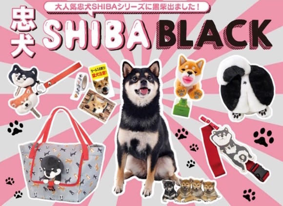 人氣黑柴犬周邊「忠犬SHIBA BLACK」於FELISSIMO登場 felissimo、柴犬、柴柴
