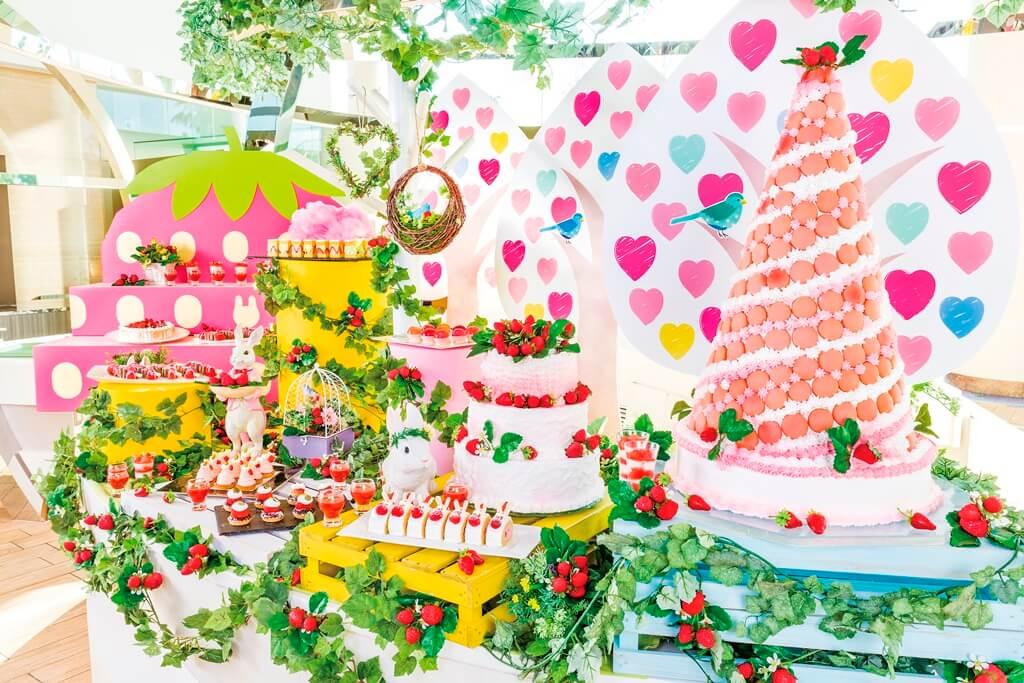 東京灣希爾頓酒店將舉辦可以讓你化身為童話女主角的「夢幻可愛」buffet 東京、甜點、東京灣希爾頓酒店