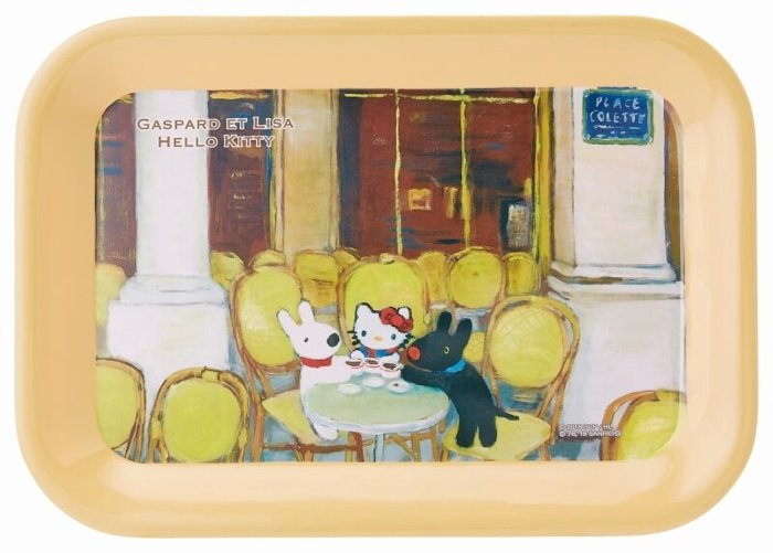 「麗莎和卡斯柏」×「Hello Kitty」的周邊商品抽選開始 凯蒂猫、麗莎和卡斯柏、