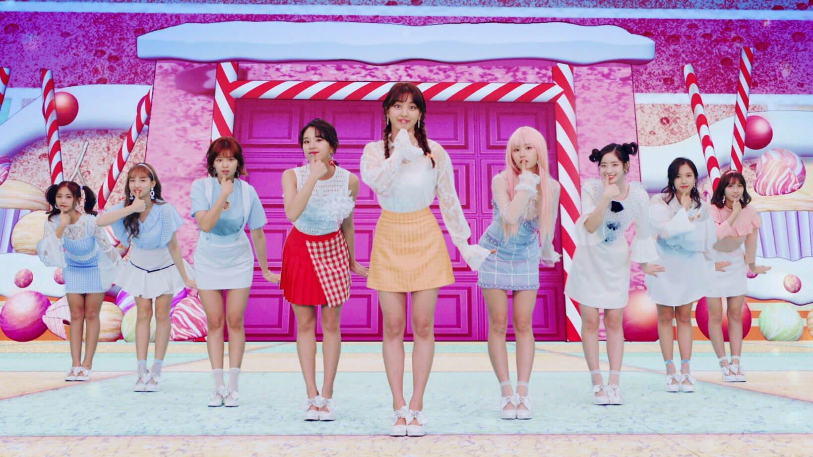 """TWICE新歌「Candy Pop」的""""動畫×實拍""""MV公開 twice、"""
