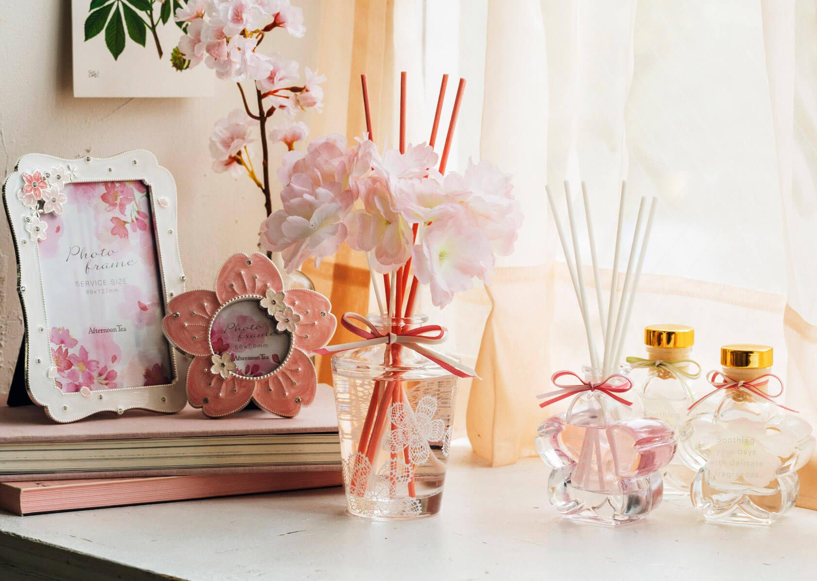 日本Afternoon Tea LIVING推出讓房間充滿花卉氣氛的新商品! 花氣氛、