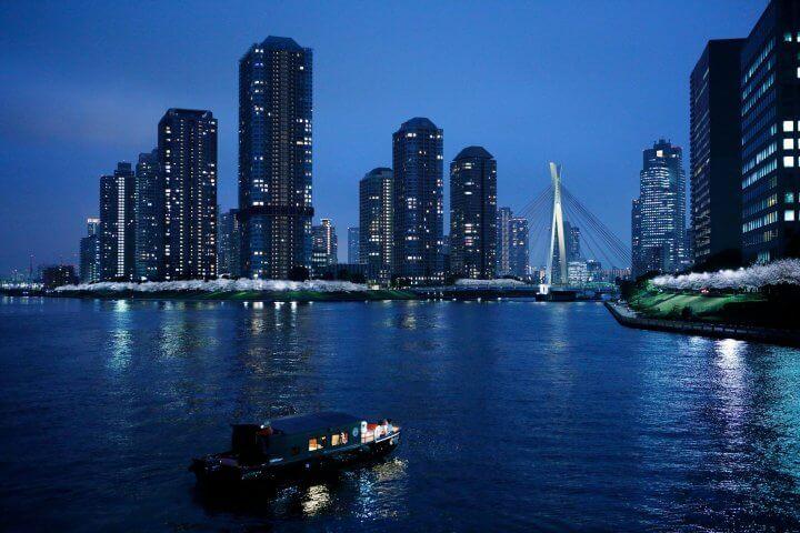 虹夕諾雅東京推出乘船欣賞夜櫻的「東京・夜櫻船遊」活動! 在東京、虹夕諾雅、