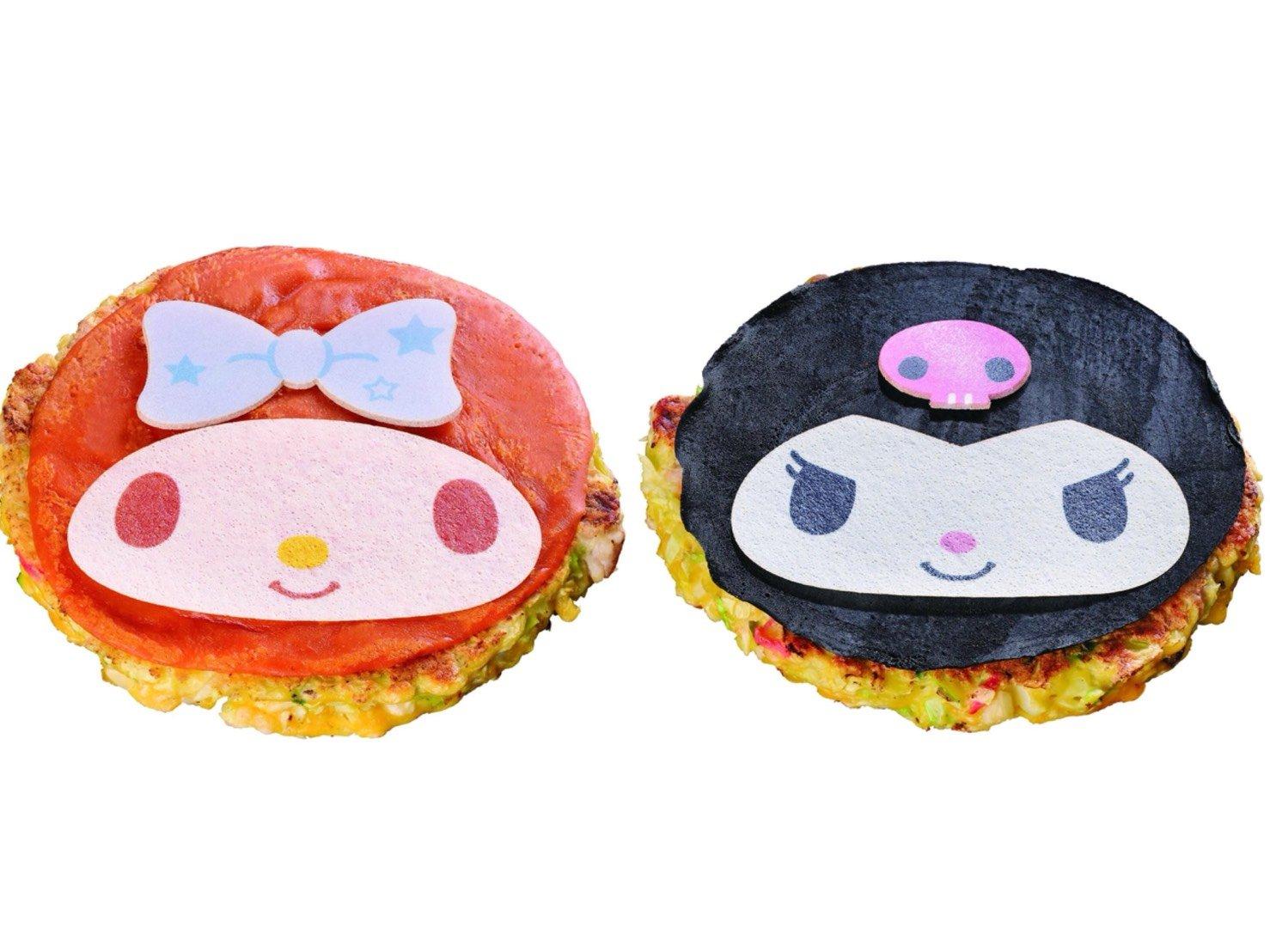 「大阪燒 道頓崛」推出美樂蒂&酷洛米大阪燒登場! 和式料理、美樂蒂、酷洛米、