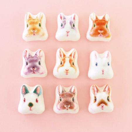 FELISSIMO 兔子圖案的迷你和風棉花糖新發售 兔子、甜點、