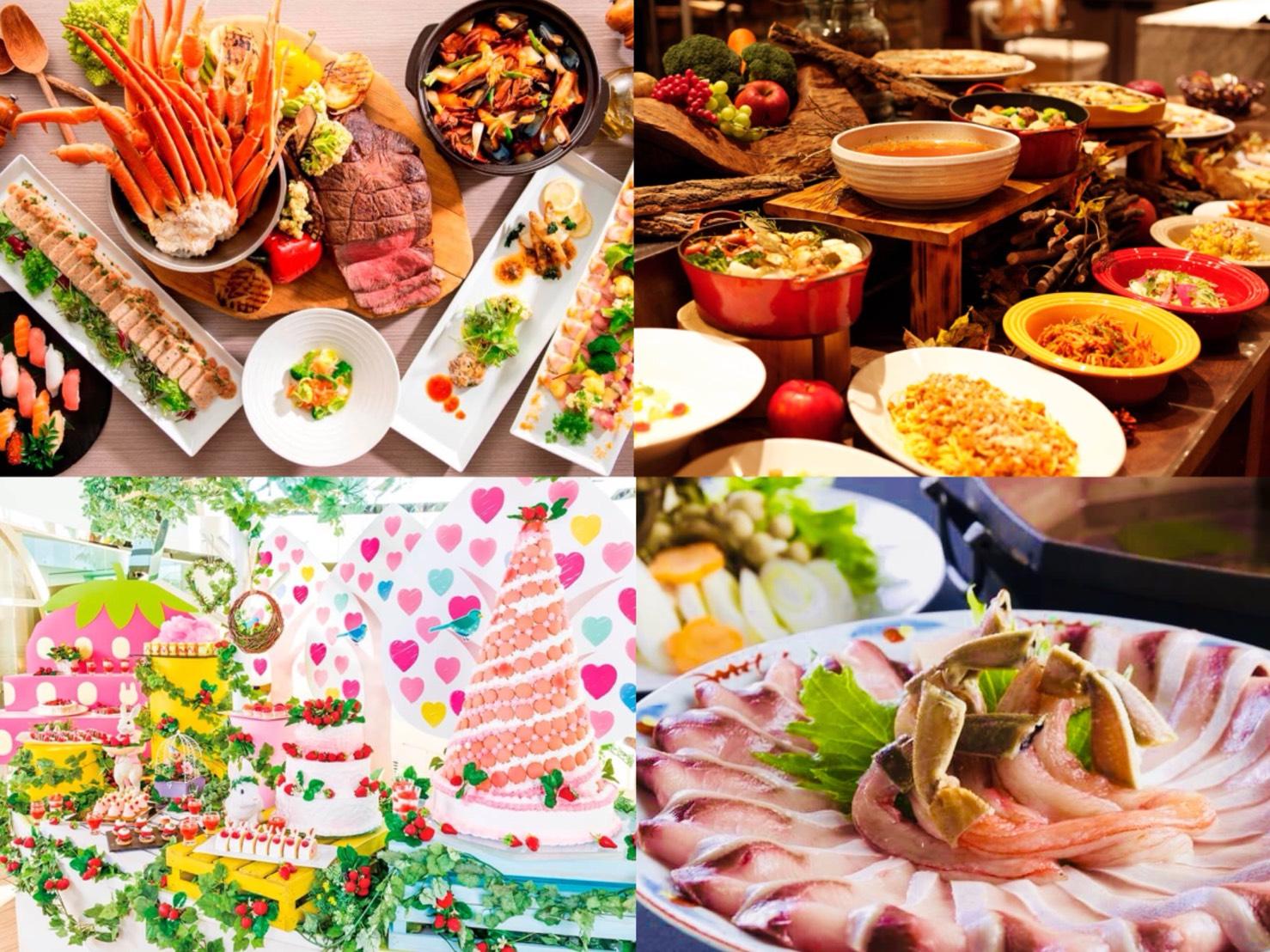 從甜點到海鮮都有!日本冬季推薦的5間buffet 甜點、