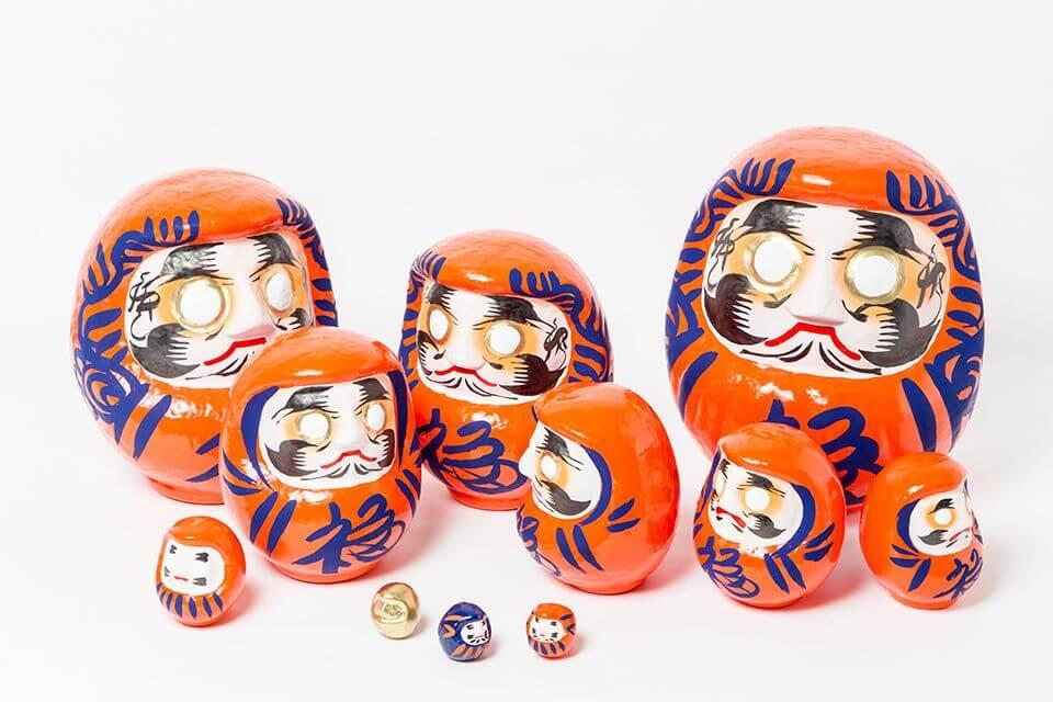 「白河達摩不倒翁」×「BEAMS JAPAN」合作不倒翁限定發售 在新宿、